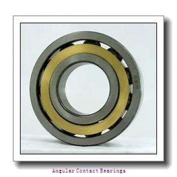 90 mm x 190 mm x 43 mm  FAG 7318-B-TVP Angular Contact Bearings