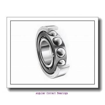 35 mm x 72 mm x 27 mm  Rollway 3207 2RS Angular Contact Bearings