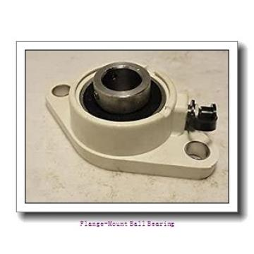 1.0000 in x 3.0000 in x 3.7500 in  Dodge F3BSLX100 Flange-Mount Ball Bearing